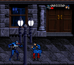 Spider-Man & Venom - Separation Anxiety (USA) In game screenshot